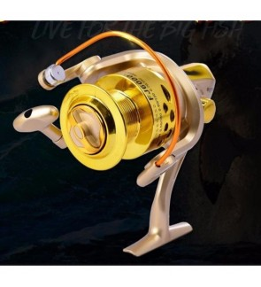 FJ Ultra Smooth 12BB Bearing Fishing Reel Aluminum Spool 4000