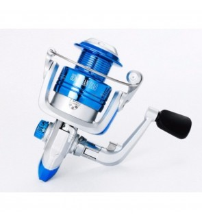 LFVU Ultra Smooth Ball Bearing Fishing Takle Reel Aluminum Spool 3000