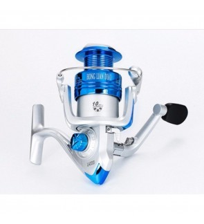 LFVU Ultra Smooth 12+1BB Bearing Fishing Reel Aluminum Spool 4000