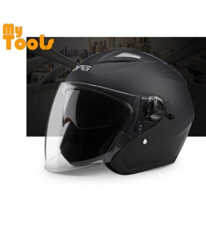 DFG Double Visor Helmet   (Matt Black)