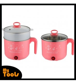 2L Multifunction Electric Cooking Pot Mini Rice Cooker Lunch Box Soup Pot
