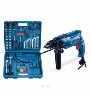 Bosch GSB550 Professional Impact Drill Set (Electrician Kit)