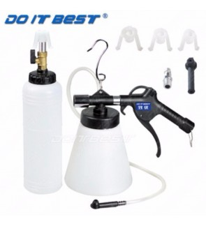 Air Brake Bleeder 1L / Fluid Extractor with Reservoir Tank Kit (Heavy Duty)