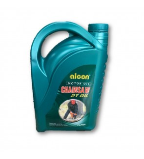 Alcon Motorcycle Chain Saw Lubricants 2-Stroke 2T Engine Oil 5L(Made In UAE)