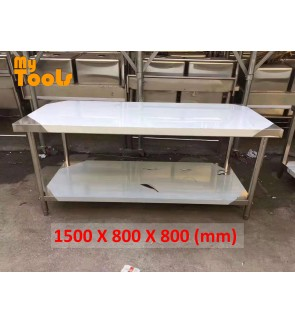 Mytools 1.5 Meter 5 Feet Stainless steel work table 1500 x 800 x 800mm
