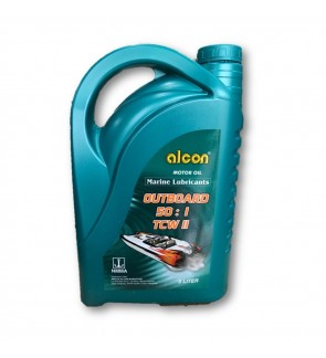 Alcon Outboard Marine Lubricants 2-Stroke 2T TCW-2 Engine Oil 5L(Made In UAE)