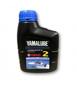 Yamaha Yamalube Genuine Lubricant Oil Two Stroke Outboard motor 500mL 2T TC-W3 (Made In Japan)