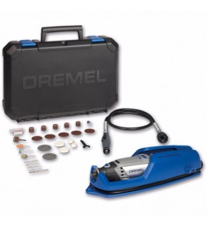 3000-1/25 Dremel Corded Multi Tool System Set 3.2mm 130W 240V