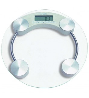 Round Digital Body Scale Bathroom Scale Digital Body Weighting Machine