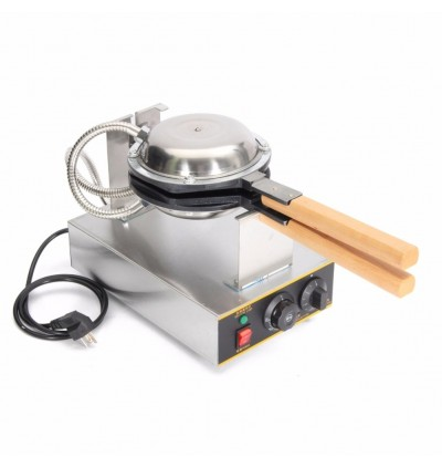 Stainless Steel Electric Egg Cake Bread Oven Maker Egg Waffle Machine