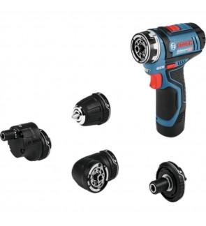Bosch GSR12V-15FC 12V 30Nm Cordless Drill / Driver (Flexi Click Function)