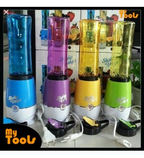 Mytools Shake N Take 3 (1bottle) On The Go Smoothie Juice & Fruit Blender High Quality Malaysia plug(Random Color)