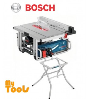"Bosch GTS10J 1800W 250mm (10"") Portable Table Saw with Stand"