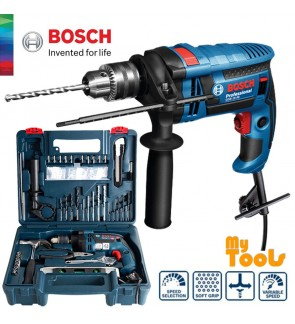 "Bosch GSB16RE 701W 13mm (1/2"") Impact Drill C/W Full Accessories Set"
