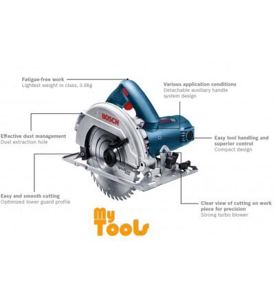"""Bosch GKS7000 1100W 7"""" (190mm) Circular Saw"""