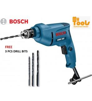 Bosch GBM350 350W 10mm Hand Drill + 3 pcs Drill Bits (6 Months Warranty)