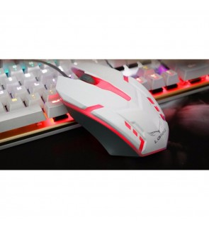 LOIOG 3D Colour Gaming Mouse (White)