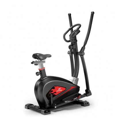 ADKING T911 2 In 1 Elliptical Fitness Equipment Cross Trainer Exercise Elliptical Bike For Indoor Cy
