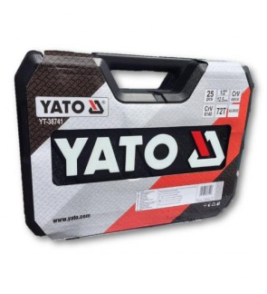 "Yato 25pcs 1/2"" Socket Set (Poland)"