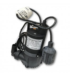 ARWANA PUMP BPS-180DA 1-1/4 / 1 Inch 120W Automatic Rubber Body Submersible Pump (Made In Taiwan)