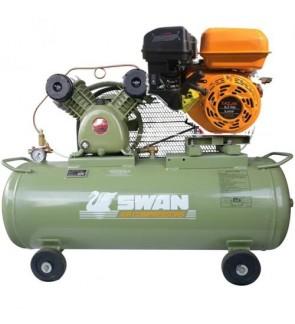 Swan SVU202E Kazumi 8HP Petrol Engine 85Liter 8Bar Air Compressor (Made In Taiwan)