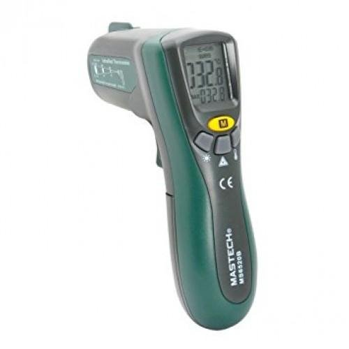Mastech MS6520B Non-contact Digital Infrared Laser IR Thermometer (Max Temp. 600 deg)