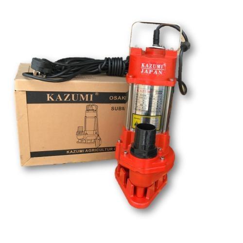 "Kazumi KZP210S 2"" x 1HP (750W) Heavy Duty Submersible Pump (Japan)"