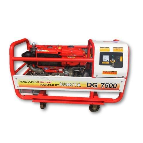 Kubota DG7500 7500kVA 240V Diesel Generator (Made In Japan)