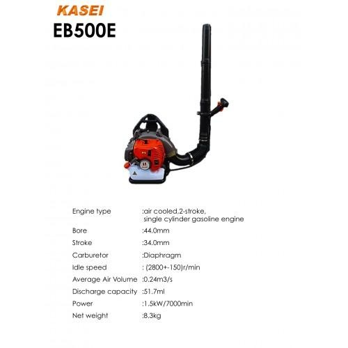 Kasei Back Pack / Knapsack Leaf Blower EB500E 51.7cc 90m/s