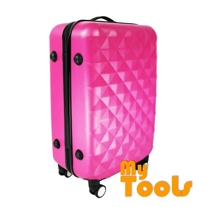 Mytools Premium ABS 3-In-1 Hard Case Diamond Luggage With 8 Wheels Set (20Inch+24Inch+28Inch)