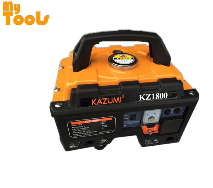 Kazumi Portable Four Stroke Petrol Generator KZ1800 1000W (Made in Japan)
