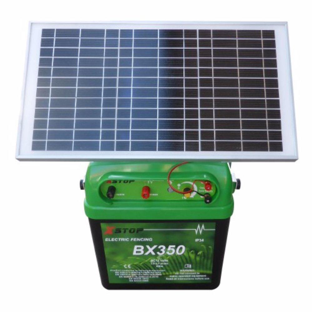X Stop BX350S Solar Fence Energizer 40km / 4.2J / DC 12V (New Zealand)