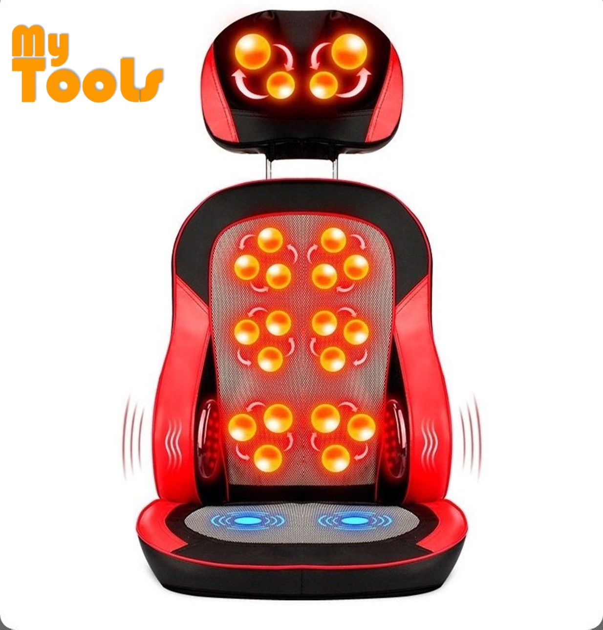 Mytools Healthy Electric Body Massage Heating Massage Cushion Therapy Machine Pad