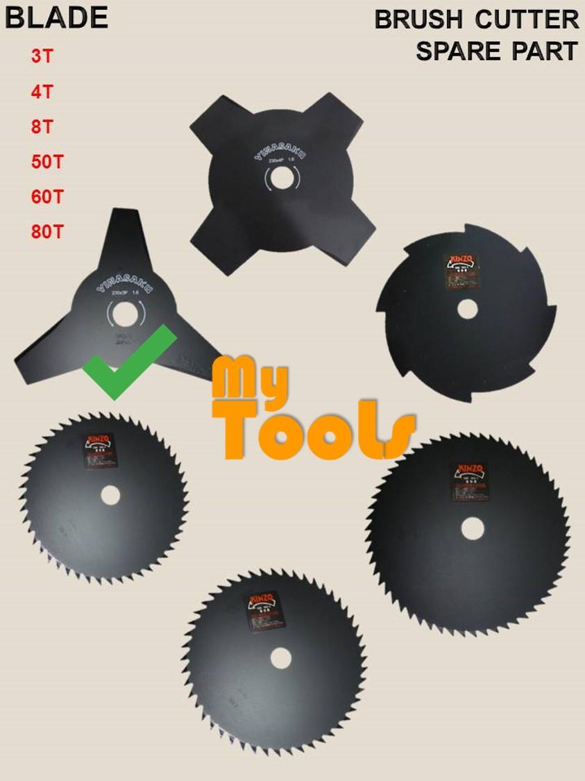 Mytools Lawn Mower Brush Cutter Metal Blade