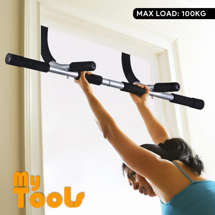 Mytools Iron Gym Door Gym Pull Up Bar Chin Up Bar  Workout Bar Fitness Abs Push Up Exercise
