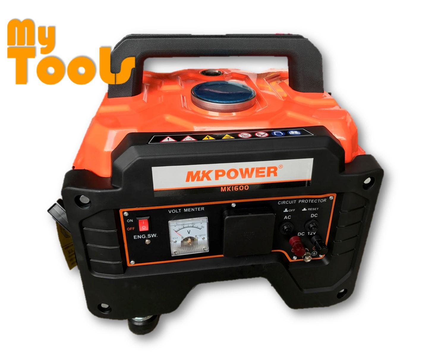 Mk Power MK1600 Portable Four Stroke Petrol Generator 1000W