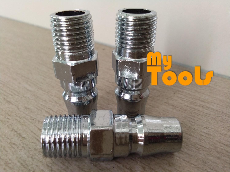 "Mytools PM20 1/4"" Air Compressor Hose Quick Coupler Connector Coupling Socket"