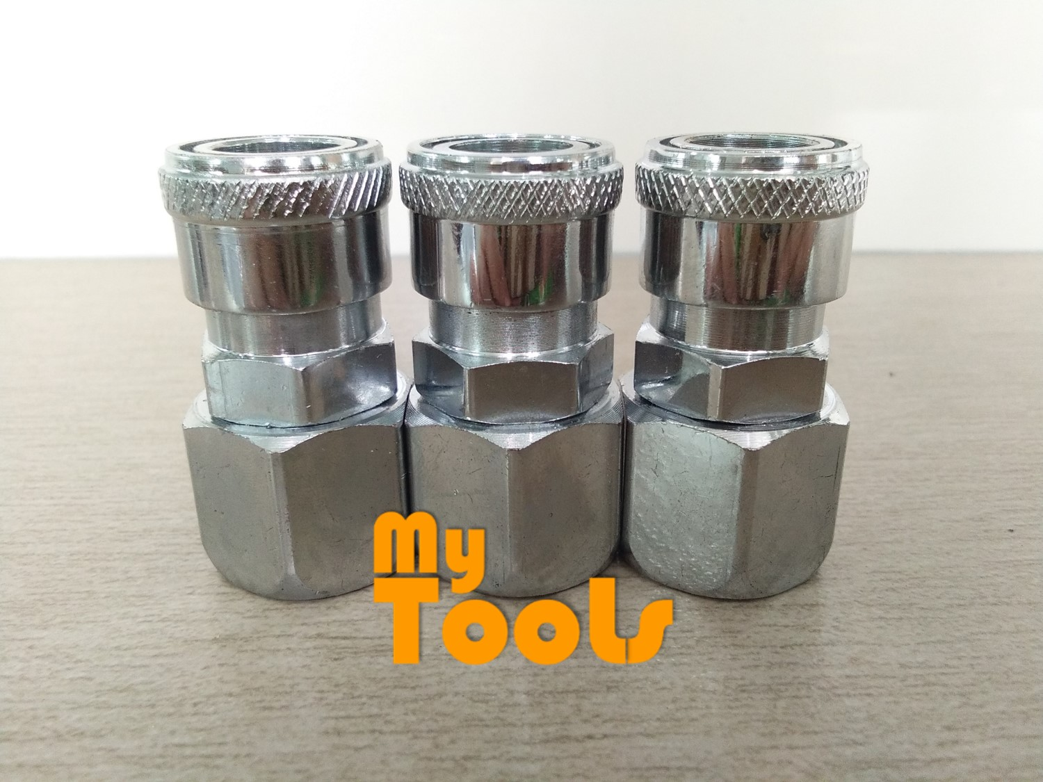 "Mytools SF20 1/4"" Air Compressor Hose Quick Coupler Connector Coupling Socket"