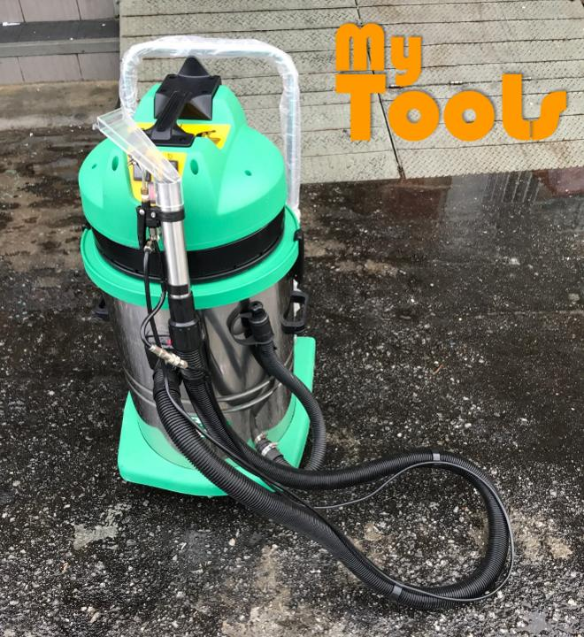 Mytools Carpet Industrial Wet & Dry Carpet Vacuum Cleaner c/w 2 Vacuum Motor & 1 Sprayer