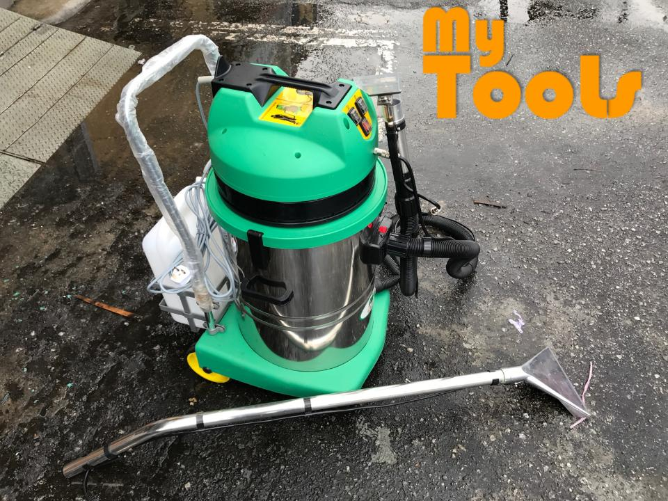 Mytools Carpet Industrial Wet & Dry Carpet Vacuum Cleaner c/w 2 Vacuum Motor & 1 Sprayer