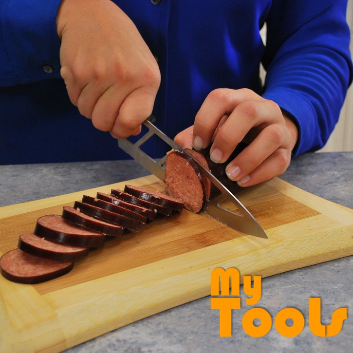Mytools Aero Knife Cleans Cuts Without Food Sticking Everytime