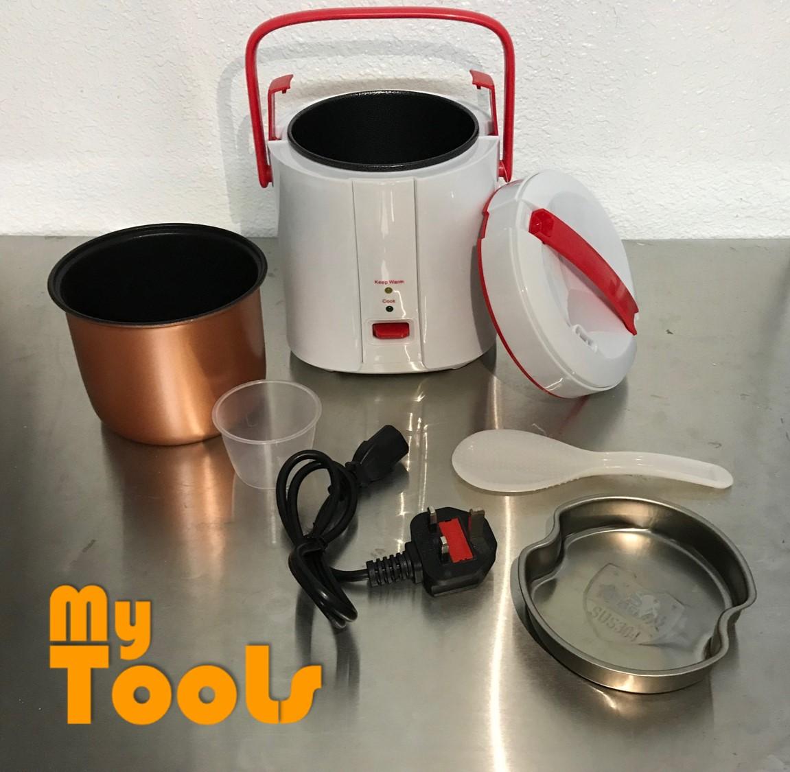 [Malaysia 3-Pin Plug] Mytools 1.8L Portable Compact Mini Electric Rice Cooker
