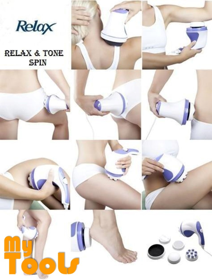 Mytools Relax and Spin Tone Whole Body Slimming Massage