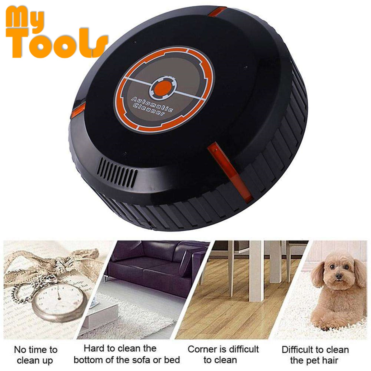 Mytools Smart Vacuum Cleaner Robot Automatic Sweeping Cleaning