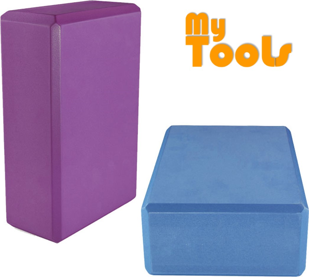 Mytools Yoga Brick Yoga Block High Density EVA Stretch Exercise Fitness Gym Tool