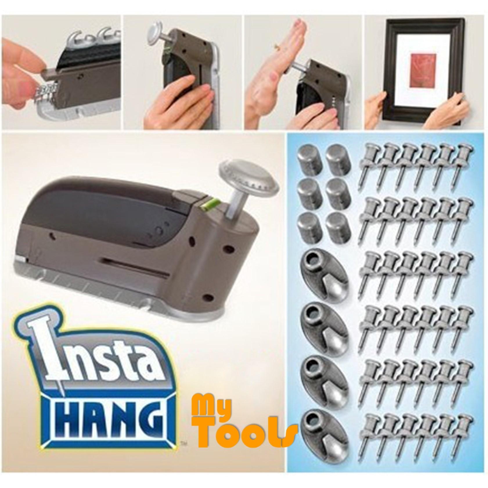 Mytools Insta Hang Wall Hook Drywall Hangers DIY Tools 47 Pcs