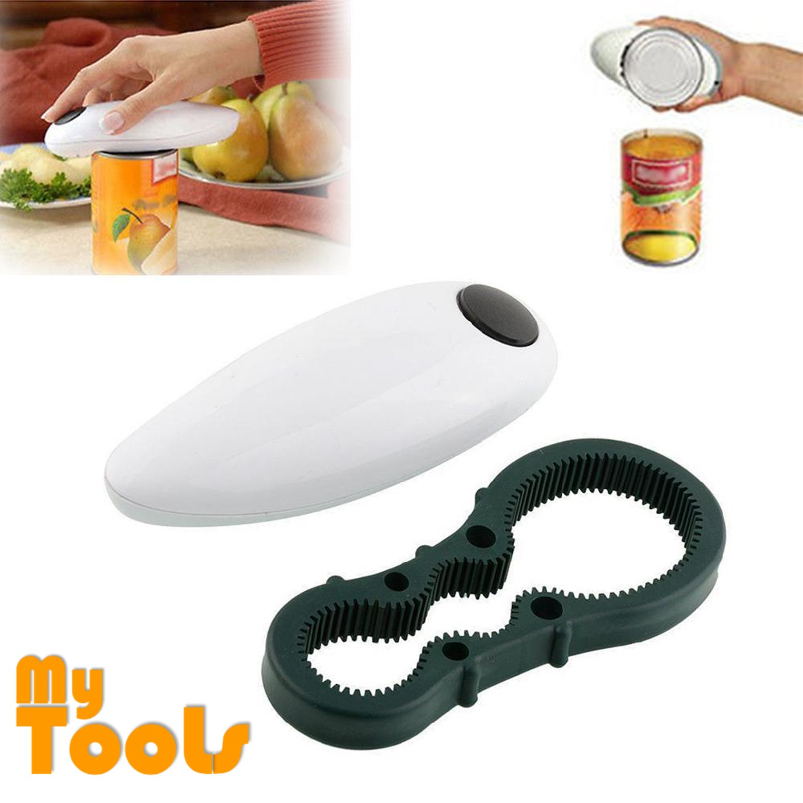 Mytools One Touch Automatic Can Jar Opener Tin Open Kitchen Tool Kits