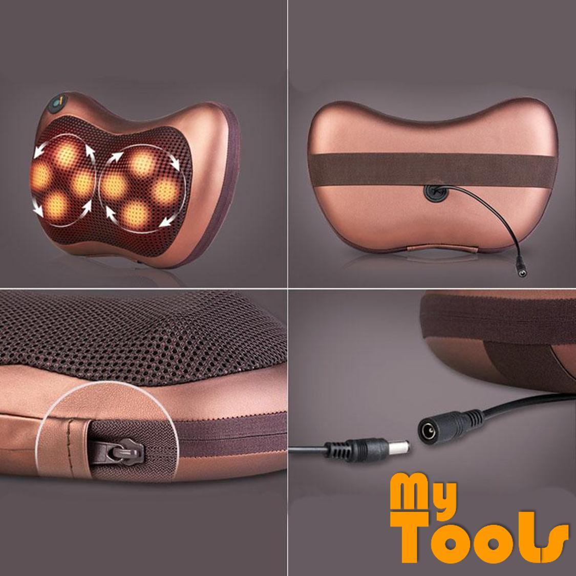 Mytools 8 Roller Car Massage Home Massage Office Massage Roller Electronics Neck Back Legs Massage P