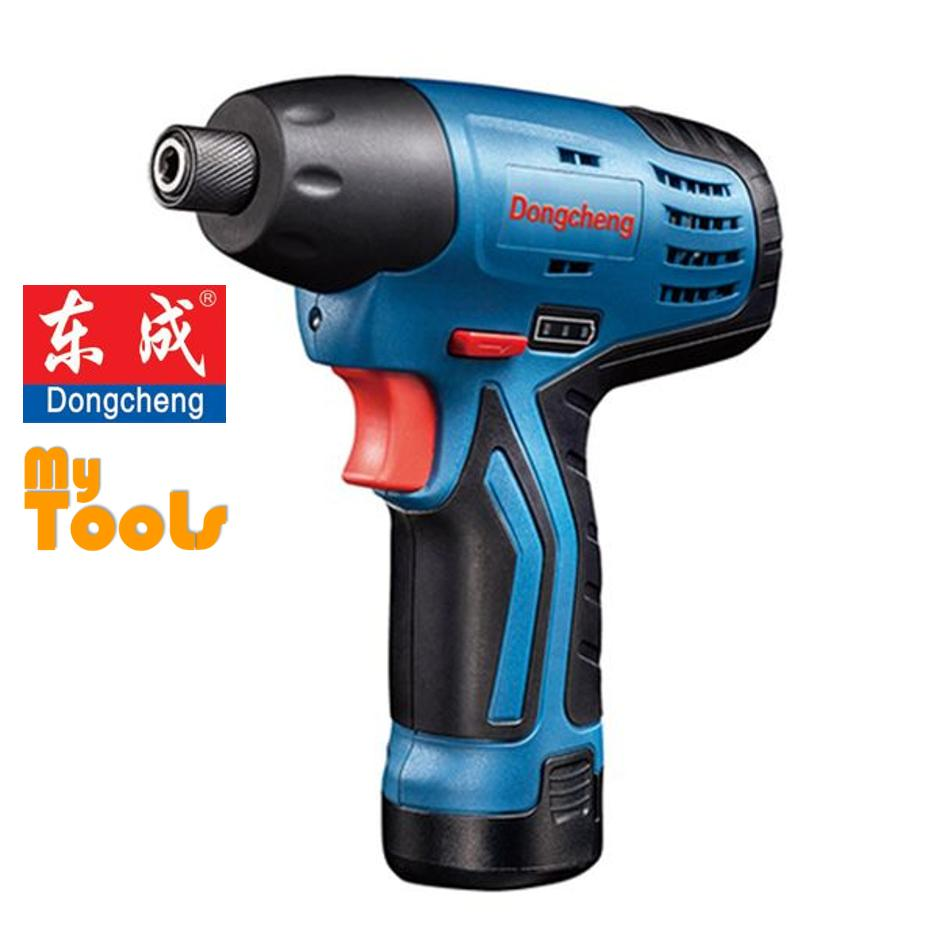DongCheng P0L-FF02-8E 12V 2.0AH Cordless Impact Driver with 2 Batteries, Charger and Case (6 Months