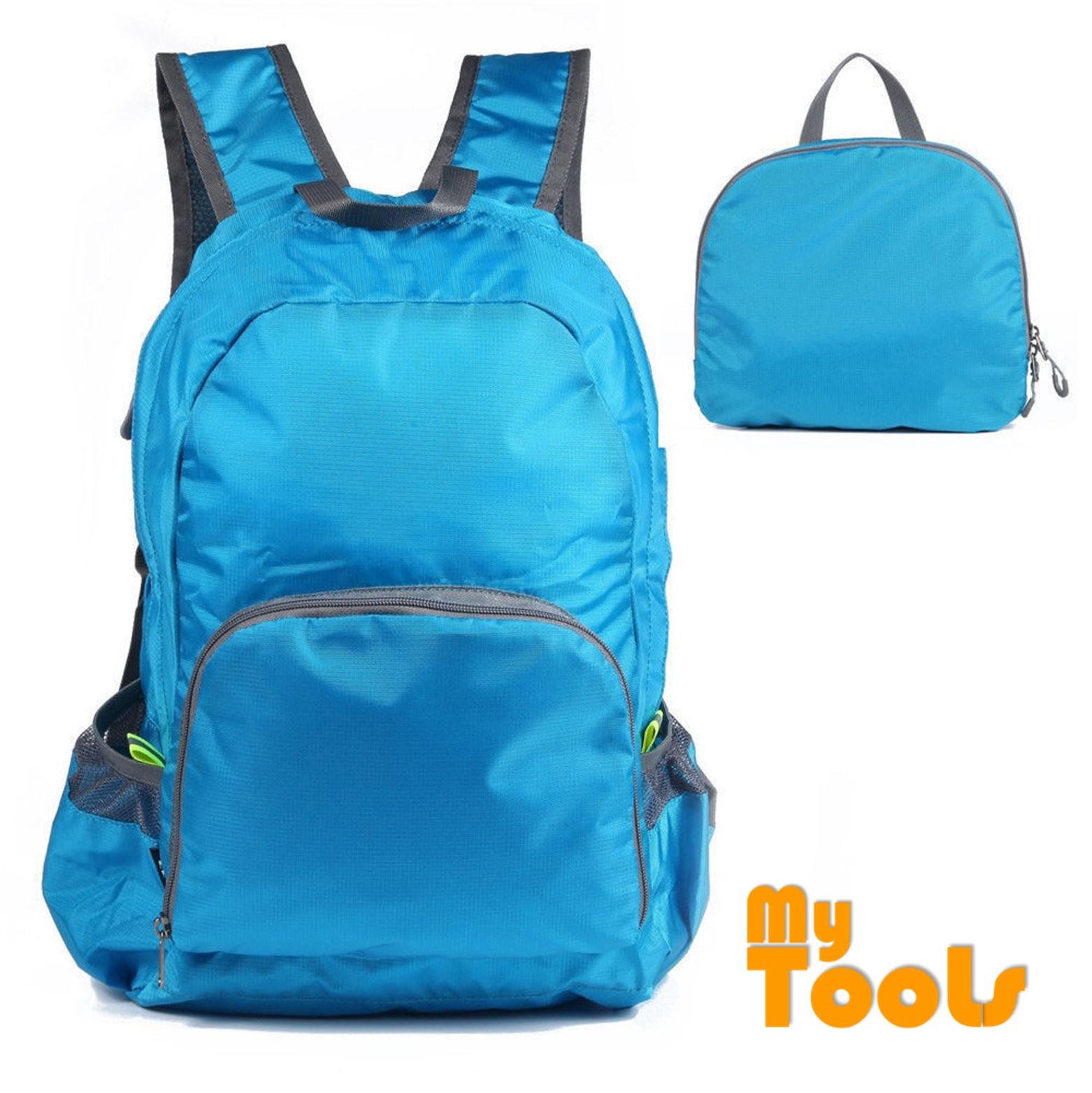 Mytools Foldable Waterproof Lightweight Nylon Travel Backpack